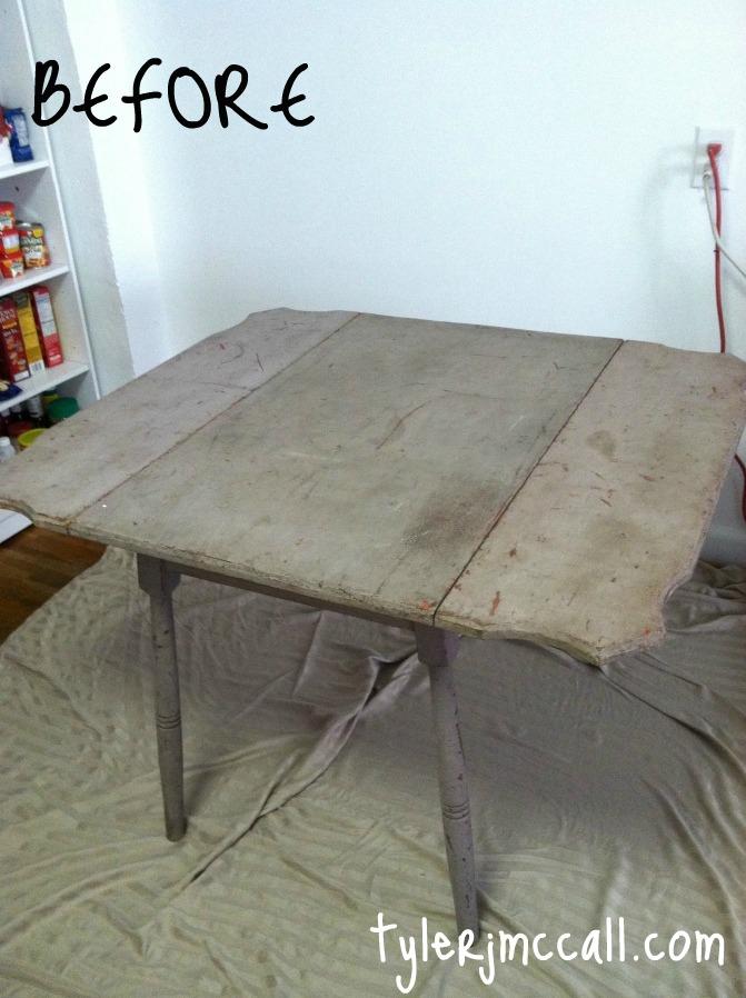 make folding table